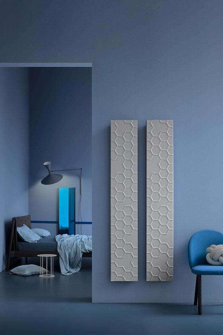 Bathroom radiator with modern design n.37