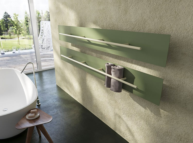 Decorative radiator with a particular design n.03
