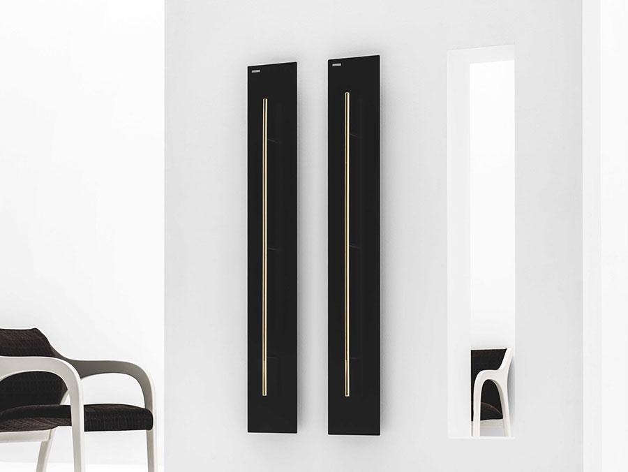 Bathroom radiator with modern design n.49