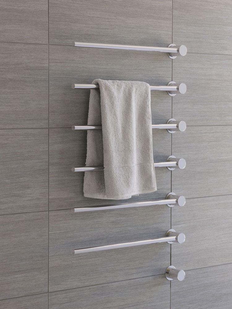 Bathroom radiator with modern design n.38