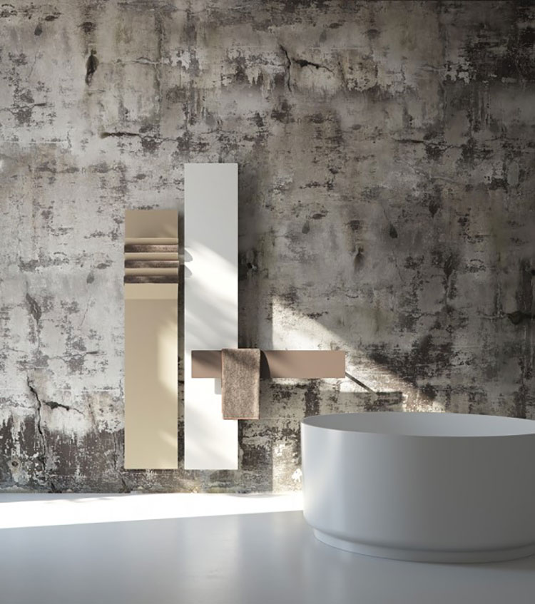 Decorative radiator with a particular design n.05
