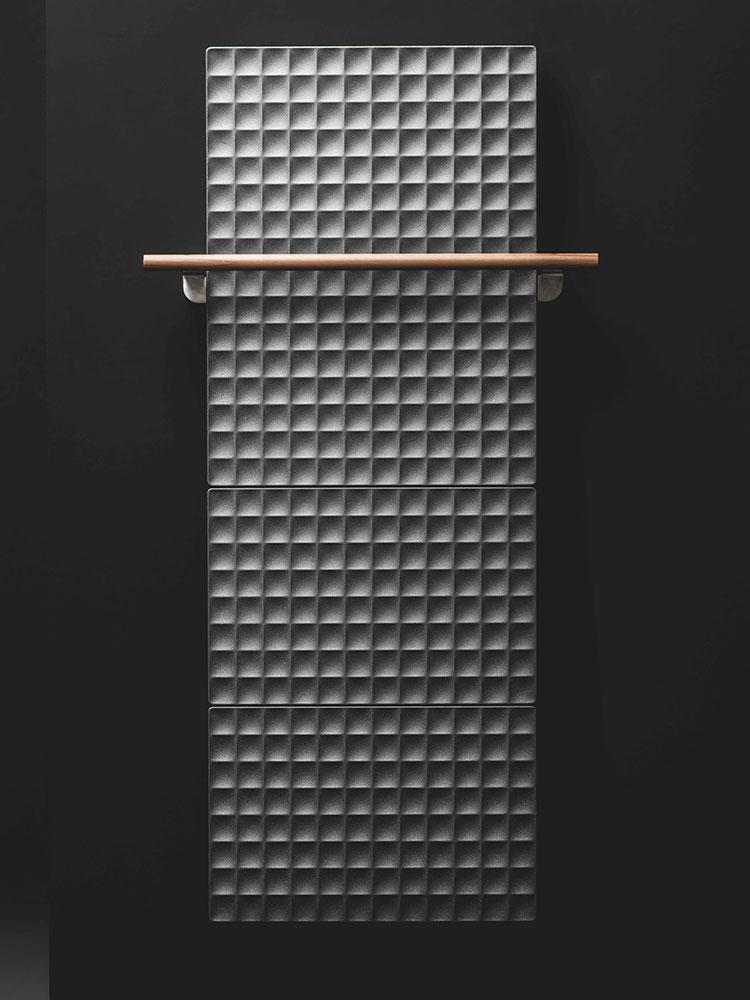 Bathroom radiator with modern design n.52