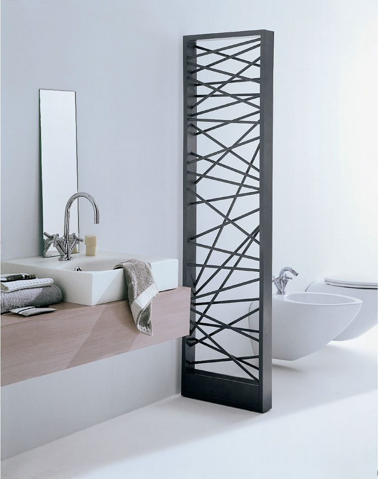 Decorative radiator with a particular design n.20