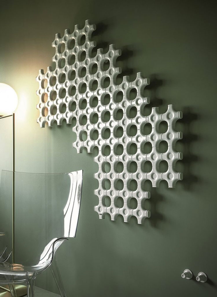 Decorative radiator with a particular design n.18