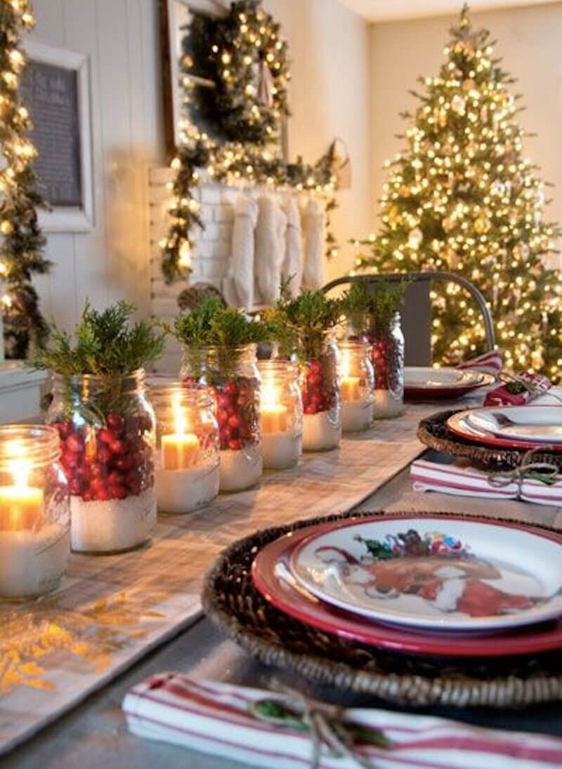 Christmas centerpieces: 10 wonderful ideas to make them independently
