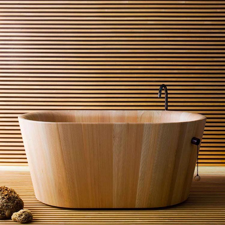 Rapsel wooden bathtub model