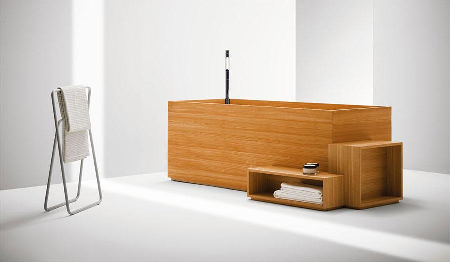 Bisazza wooden bathtub model