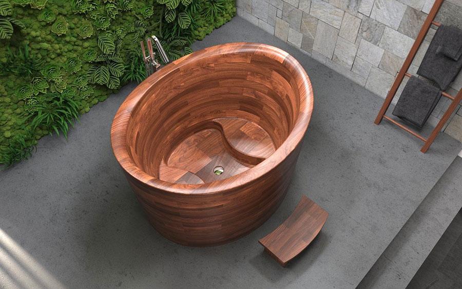 Aquatica Wood Bathtub Model # 03