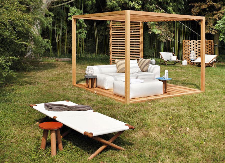 Wooden pergola for gardens or terraces n.20