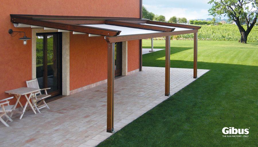 Wooden pergola for gardens or terraces n.11
