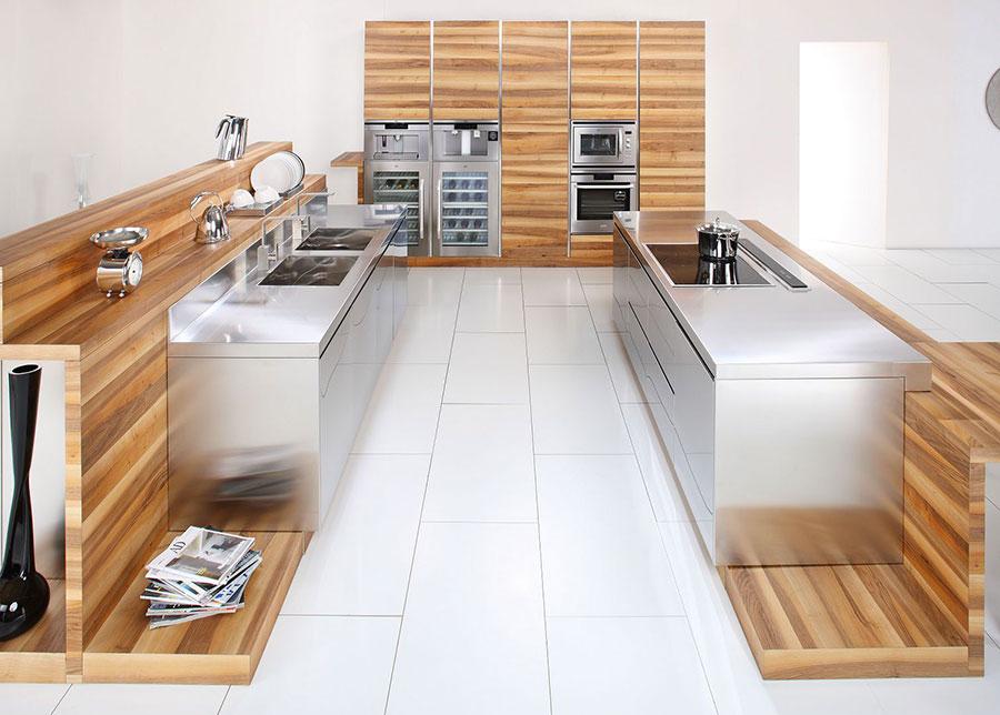 Modern industrial style steel kitchen n.02