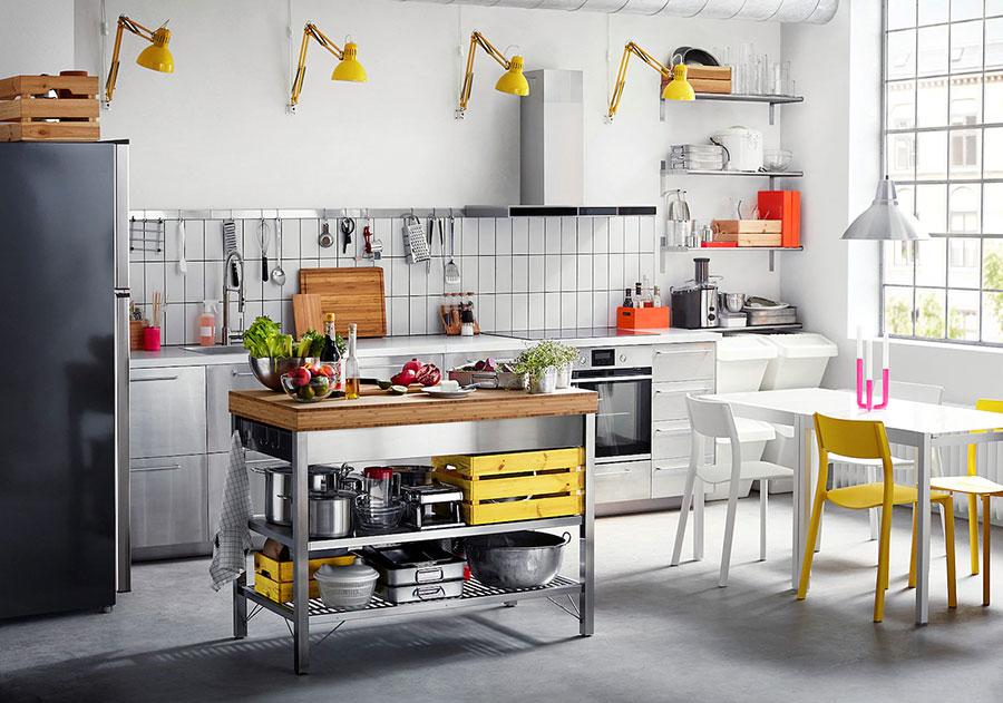 Steel kitchen model from Ikea # 01