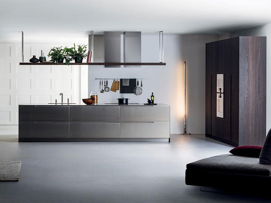 Stainless steel kitchen model n.04