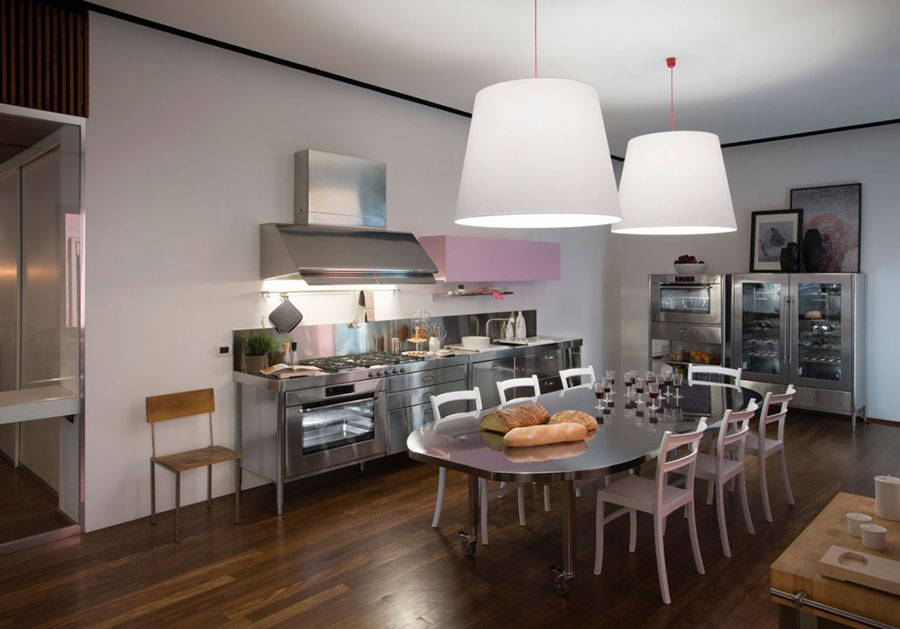 Stainless steel kitchen model n.02