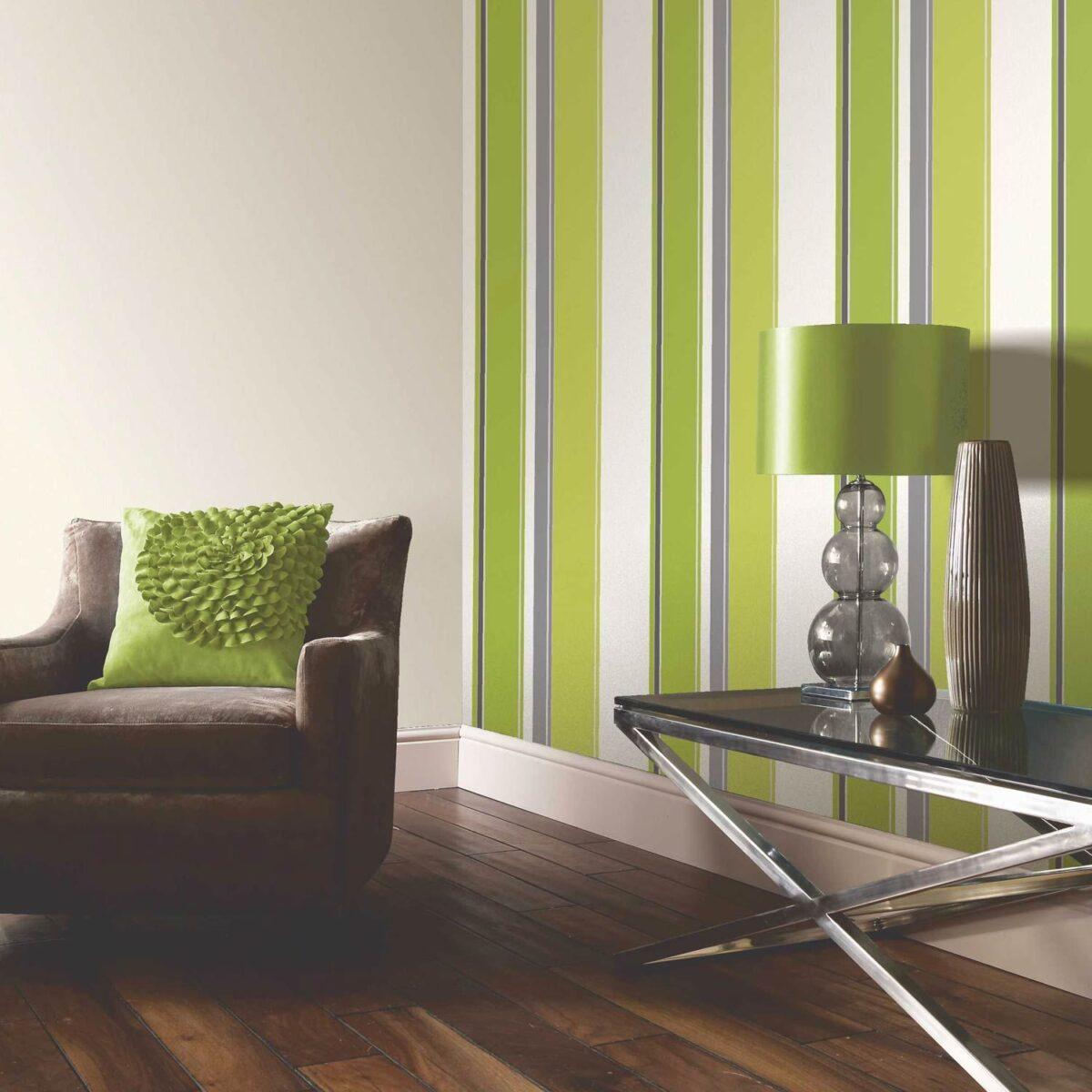 living room-walls-lime-green-3
