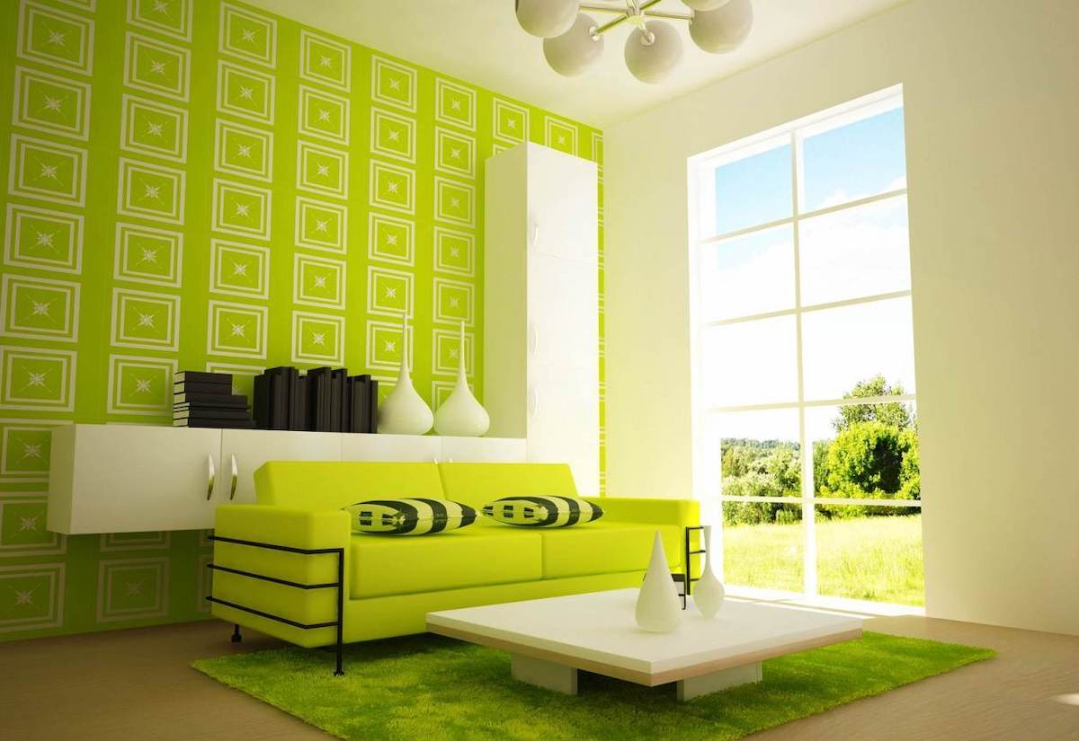 living room-walls-lime-green-16