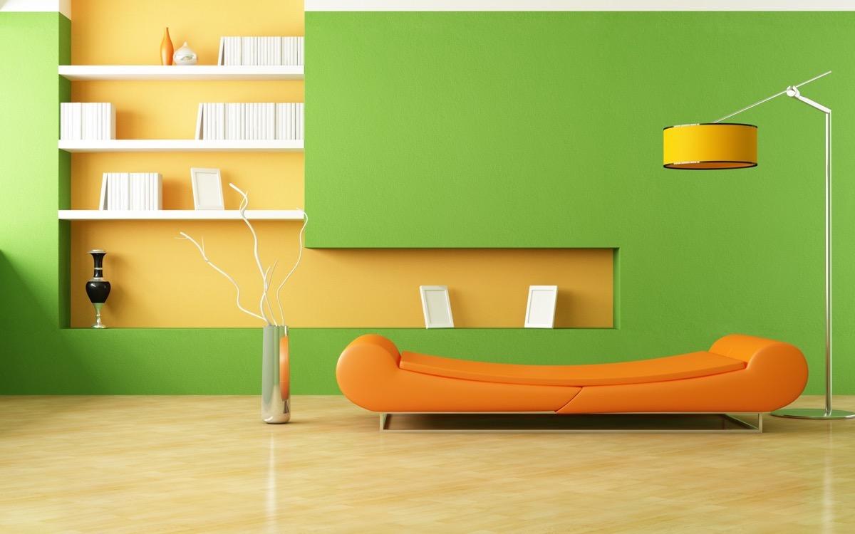 living room-walls-lime-green-9