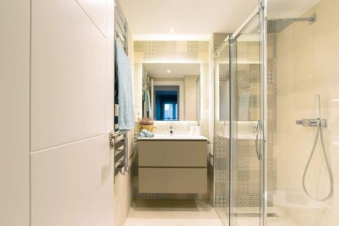 functional family flat bathroom