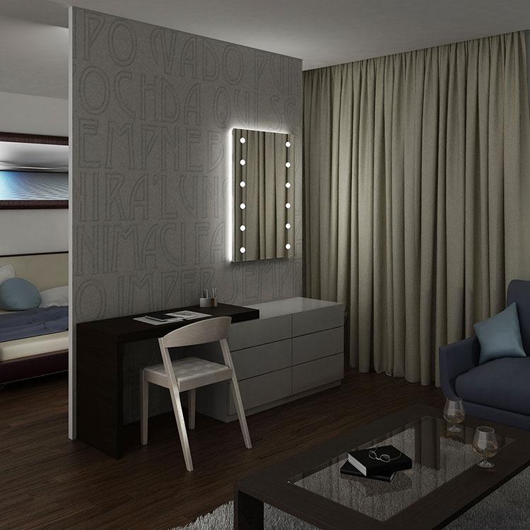 Design Bedroom Mirror Template # 02
