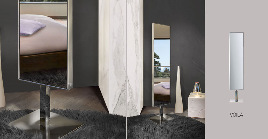 Designer Bedroom Mirror Template # 07