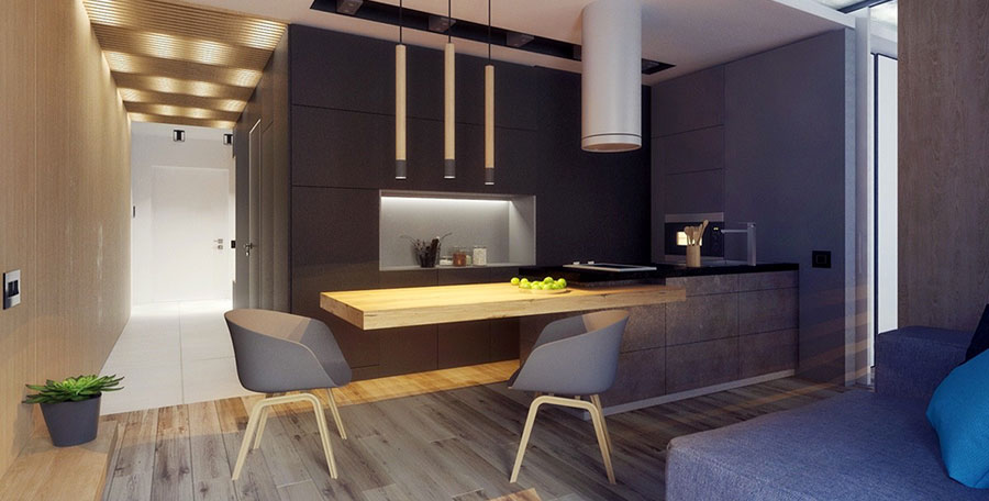 Furnishing for apartments of 50 square meters