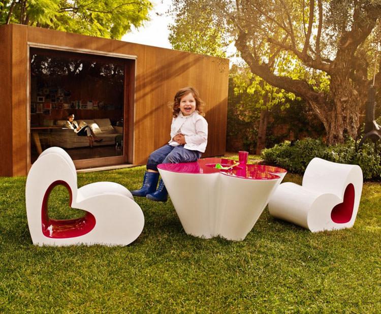 Modern outdoor furniture made for children n.01