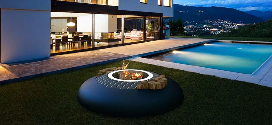Design garden brazier model n.06