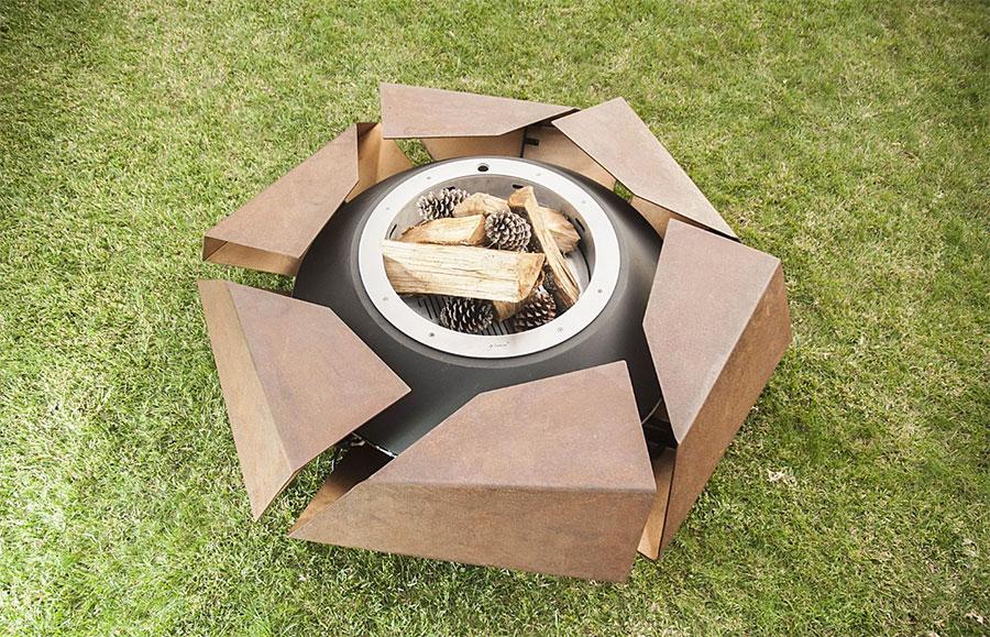 Design garden brazier model n.02