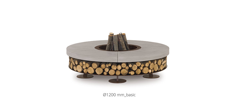 Stone garden brazier model n.01