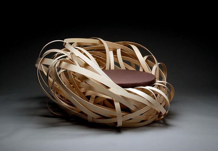 Nest Chair by Nina Bruun