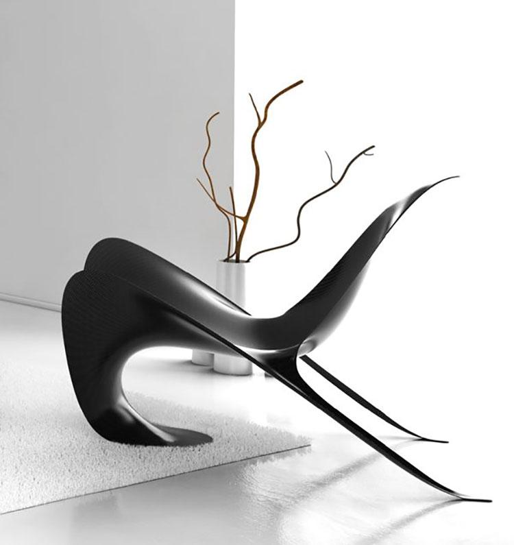 Manta armchair by Mast
