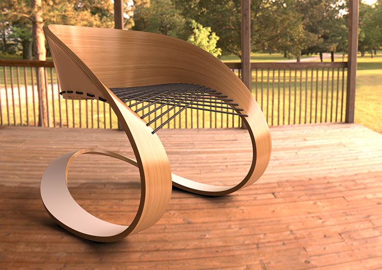 Carnaval Chair by Glid