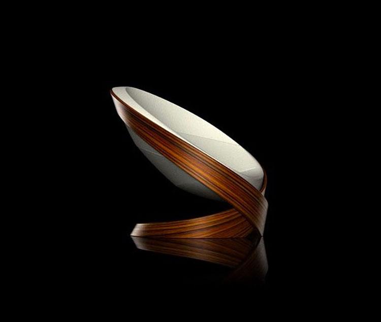 Moebius armchair by Kamil Kurka