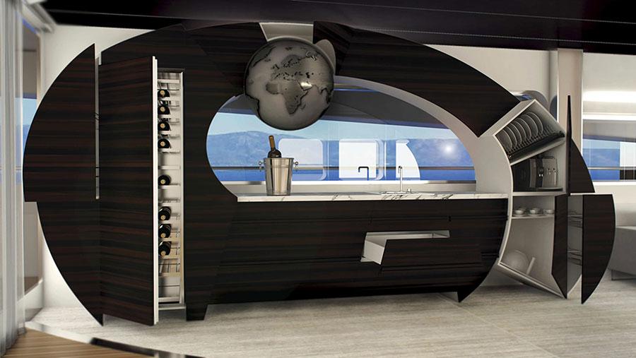 Modern Dream Kitchen Template # 20