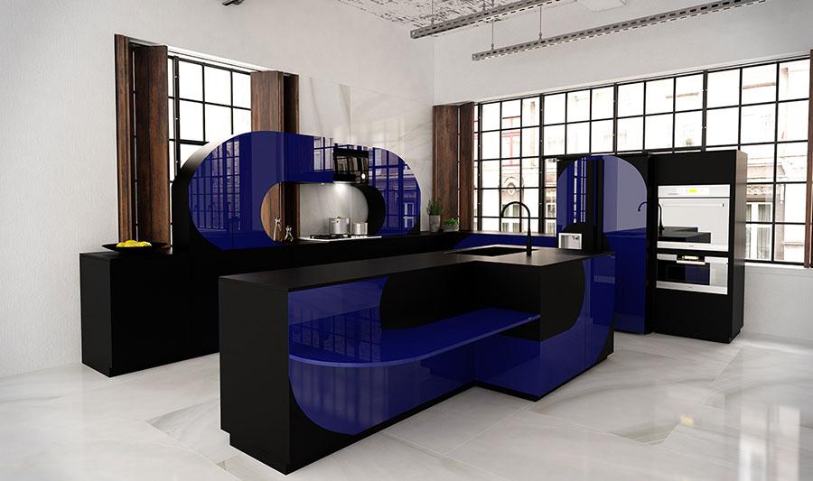Modern Dream Kitchen Template # 18