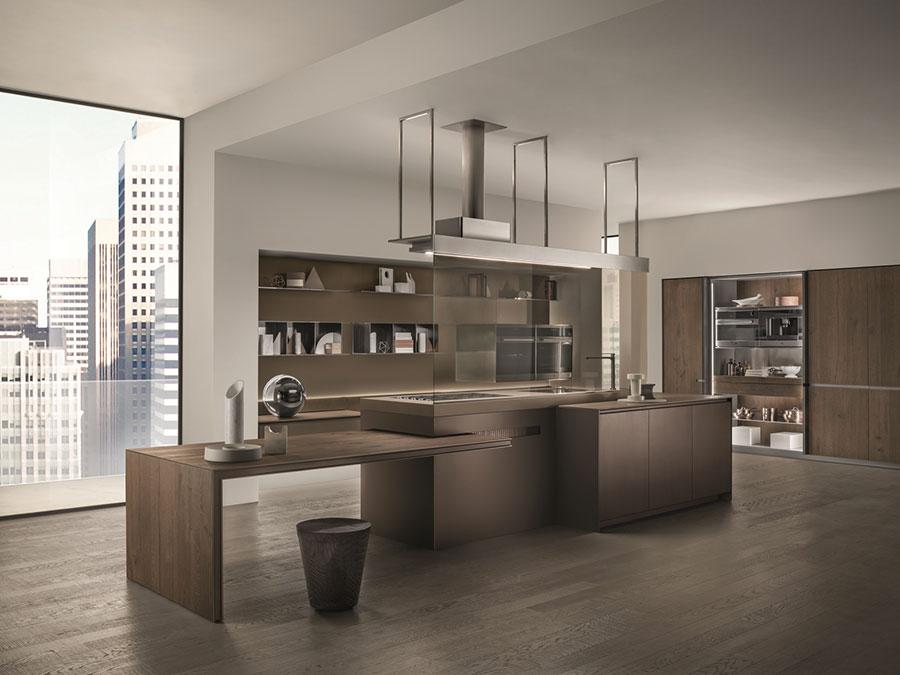 Dream kitchen model with island n.02