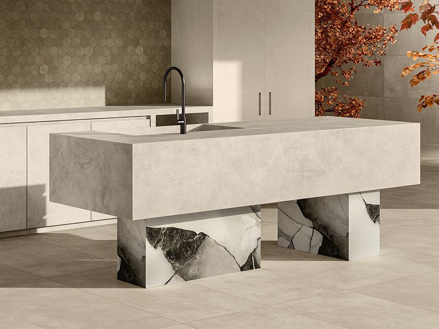 Dream kitchen model with island n.03