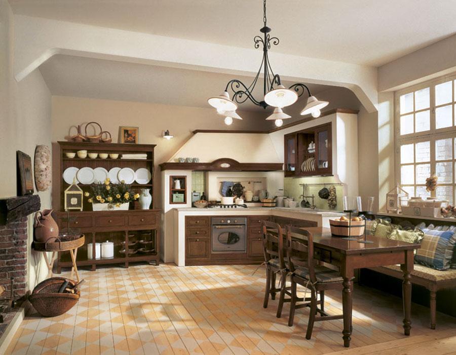 Rustic Dream Kitchen Model # 02