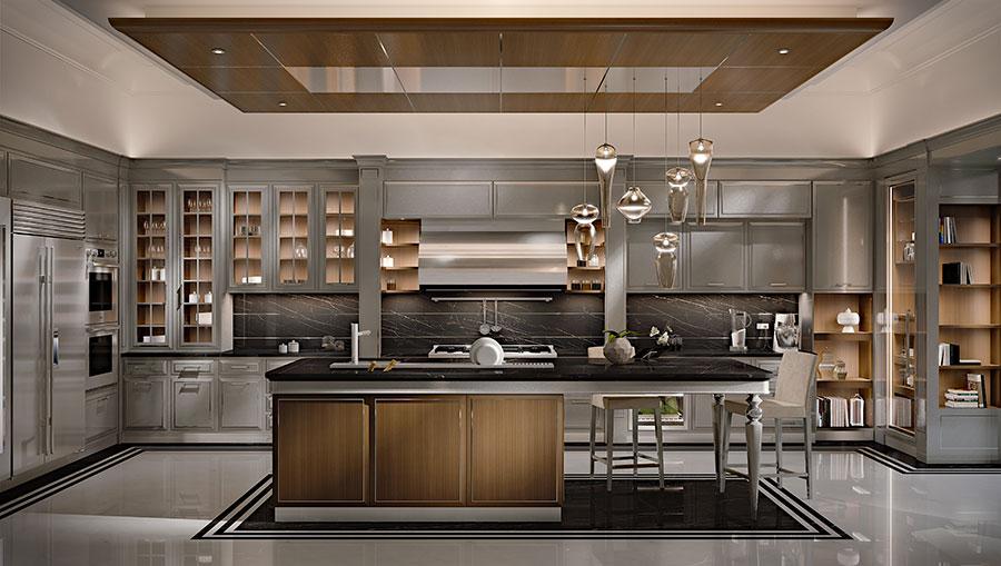 Contemporary Dream Kitchen Model # 01