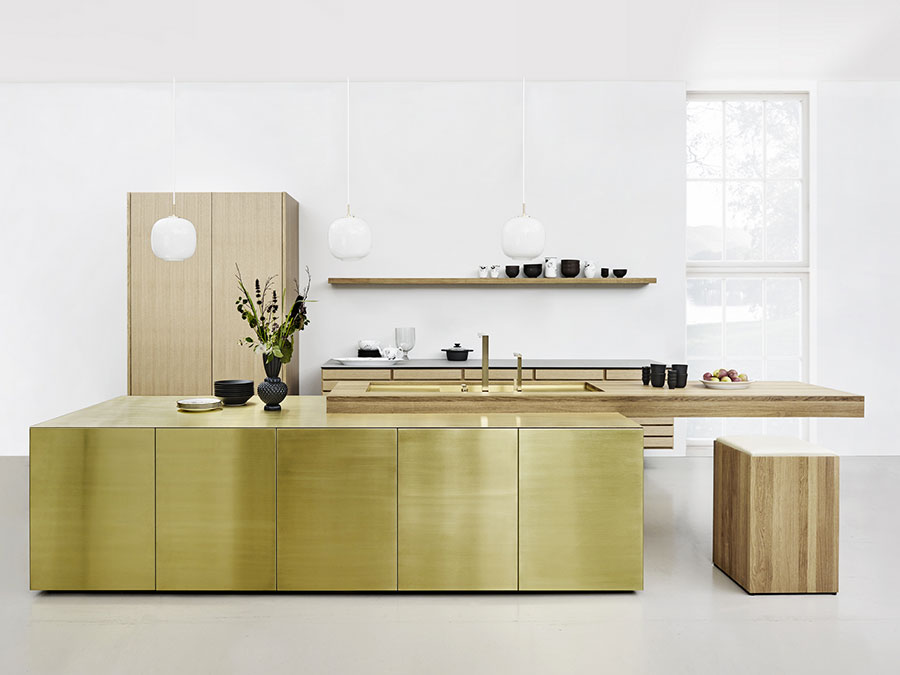 Dream kitchen model with island n.01