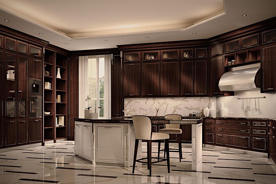 Contemporary Dream Kitchen Model # 02