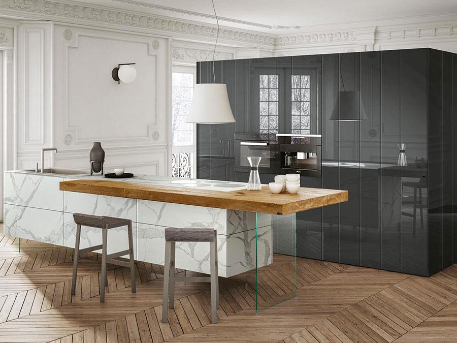 Dream kitchen model with island n.05