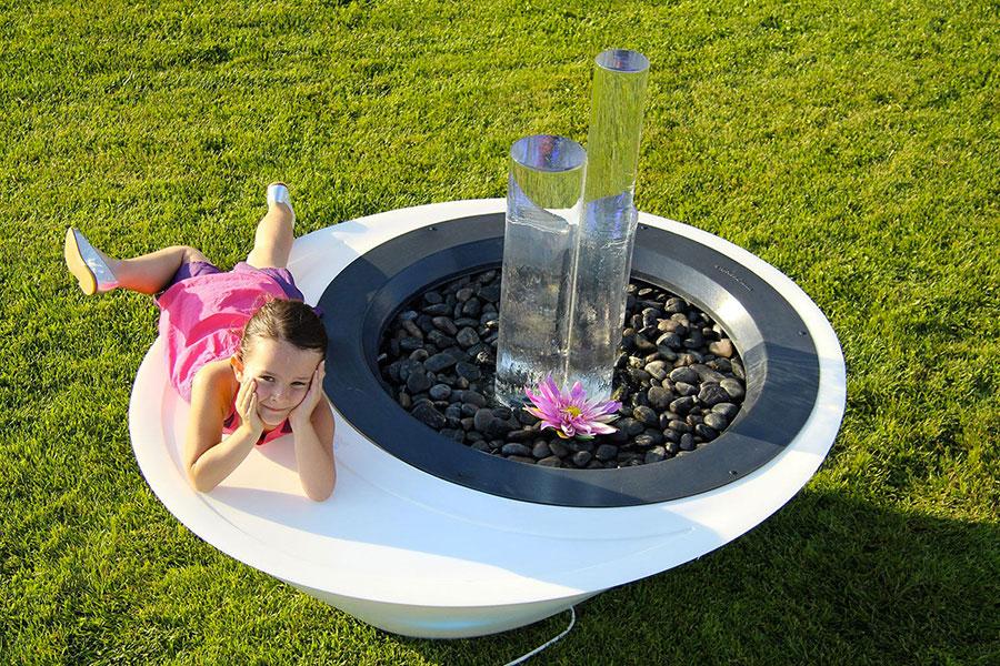 Design Garden Fountain Model 03