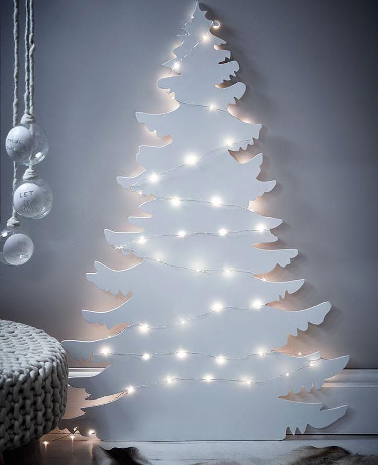 Modern wooden Christmas tree model # 05