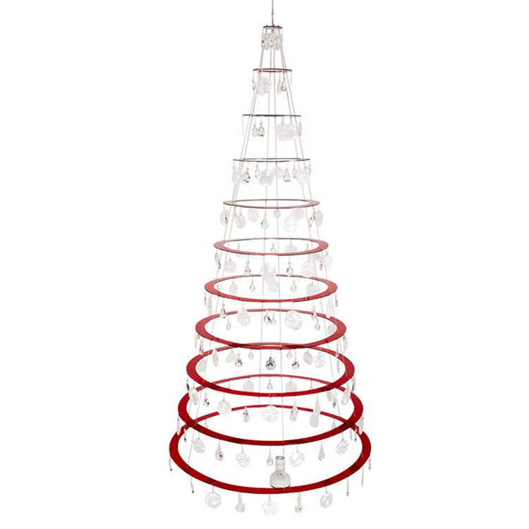 Modern Spiral Christmas Tree Template # 03