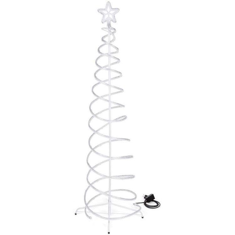 Modern Spiral Christmas Tree Template # 01