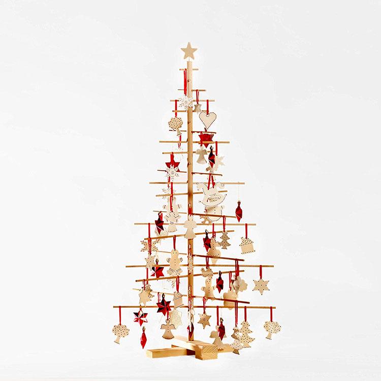 Modern Wooden Christmas Tree Model # 03