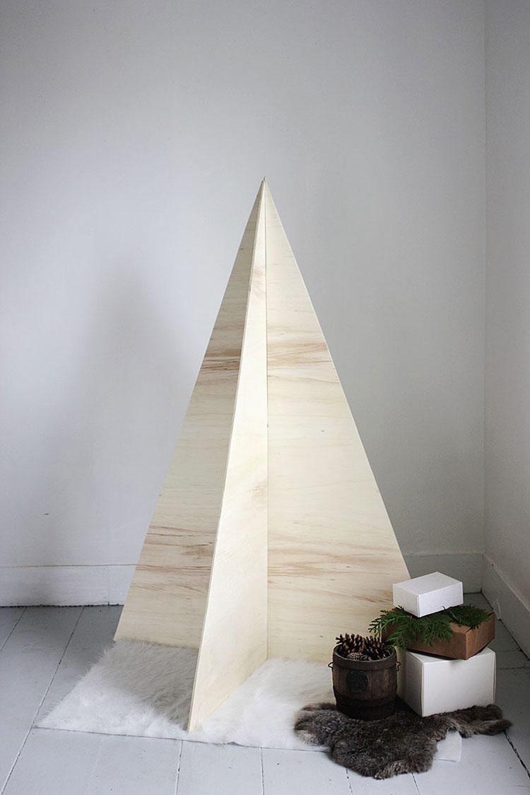 DIY Modern Christmas Tree Template # 06