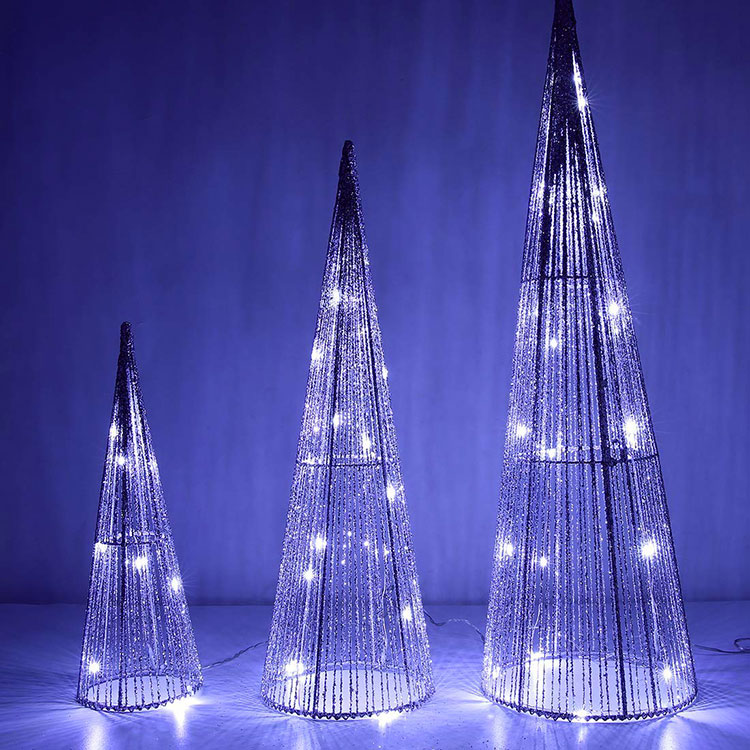 Small Modern Christmas Tree Template # 01