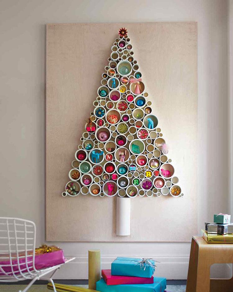 DIY Modern Christmas Tree Template # 04